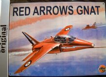 RED ARROWS GNAT AIRCRAFT